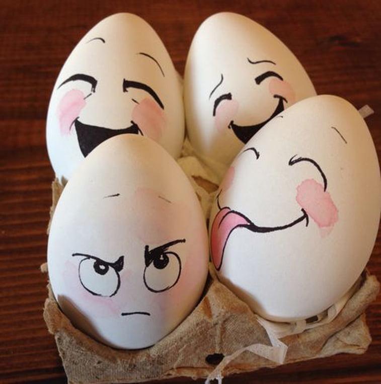 uskrsnja jaja sa osmehom