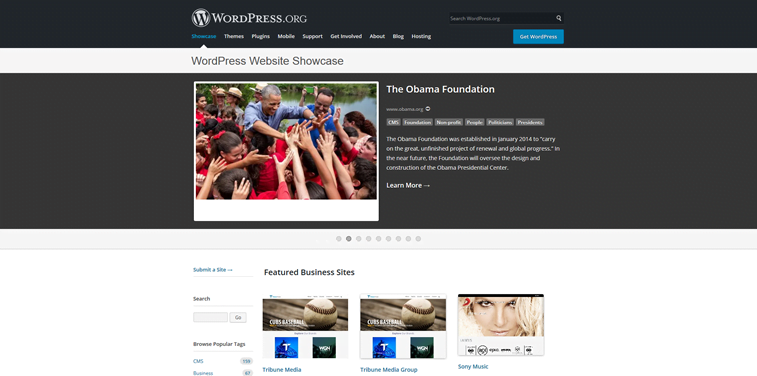 obama foundation wordpress