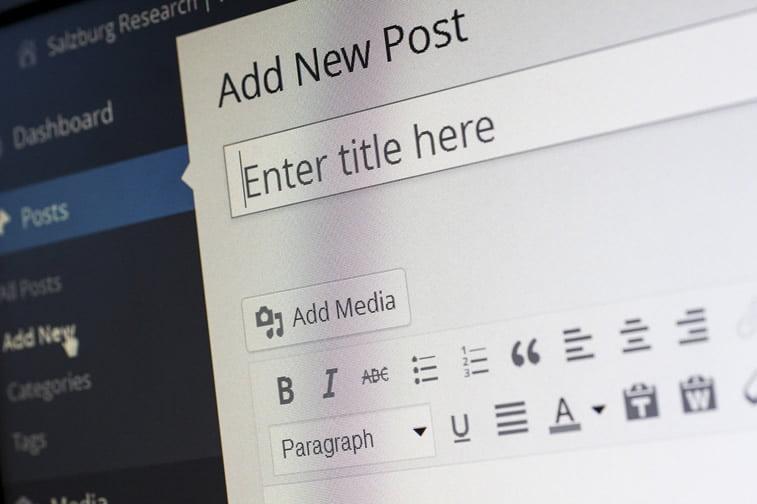 wordpress novi post