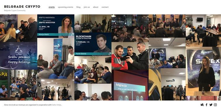 belgrade crypto community