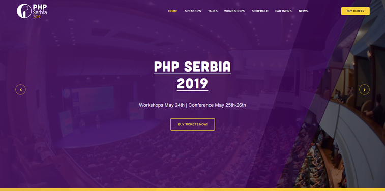 php serbia conference