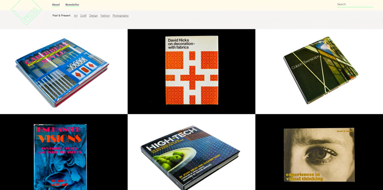 press rare dsign books online