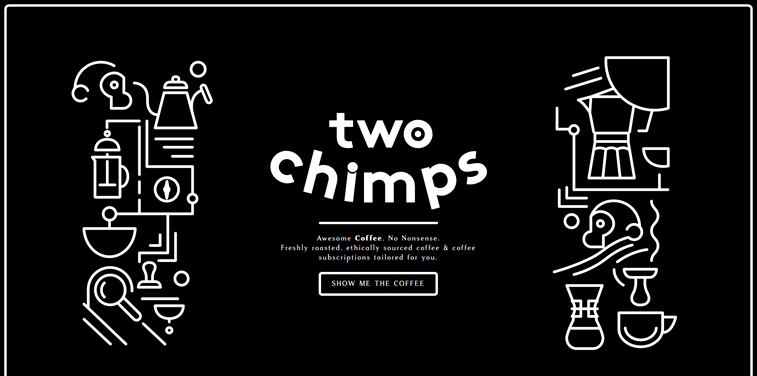 two chimps specialty coffee online store