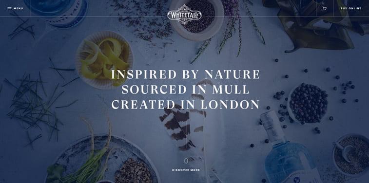 whitetail gin homepage