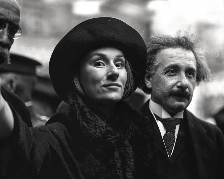flora borsi and albert einstein photo manipulation