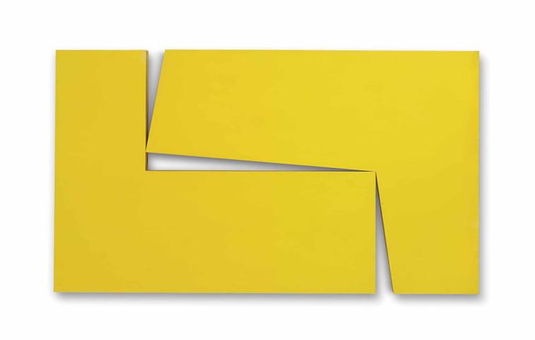 amarillo dos carmen herrera