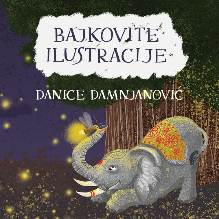 Bajkovite ilustracije Danice Damnjanović