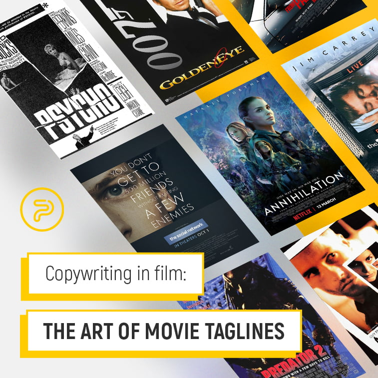 Copywriting in film: The art of movie taglines