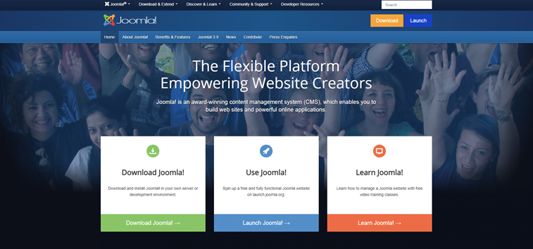 joomla official website