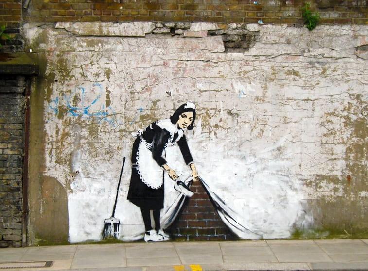 maid banksy