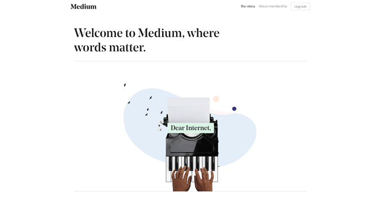 medium official website