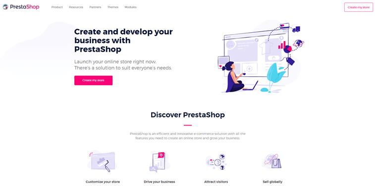 prestashop official website