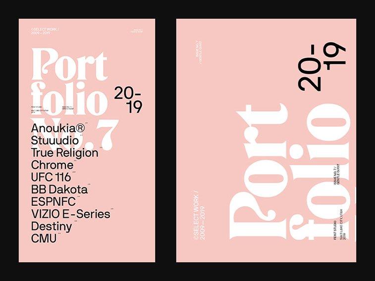 giant gentle poster design typography
