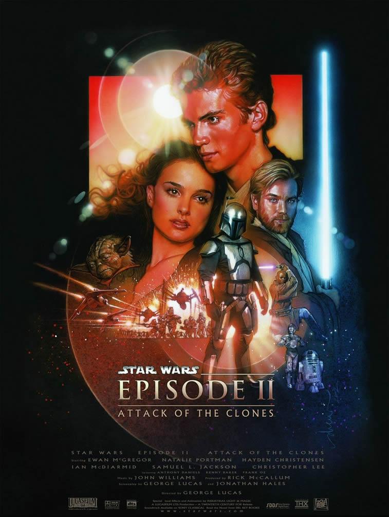 ratovi zvezda druga epizoda poster natali portman