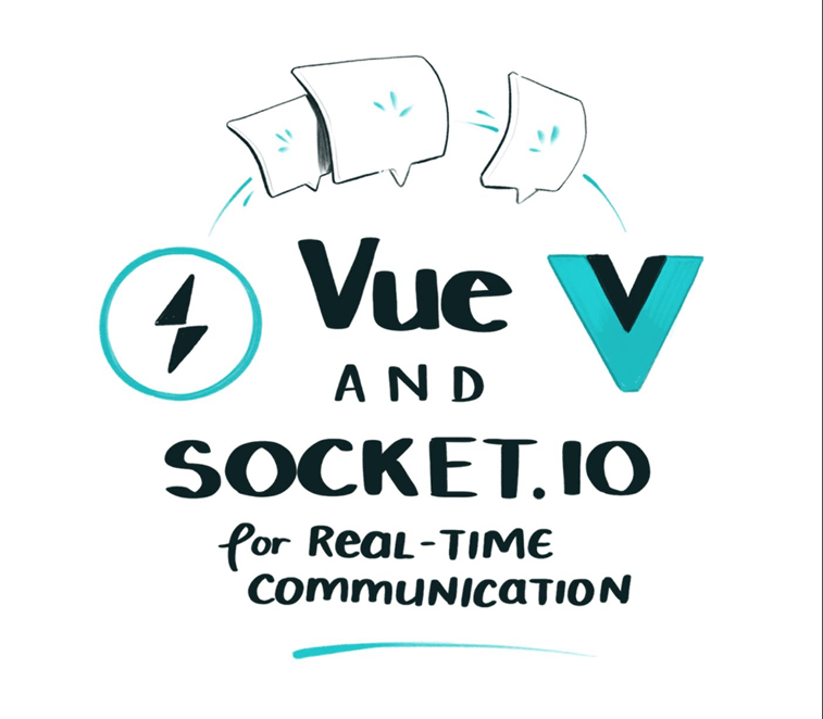 vue.js and socket.io for real time communication sketch 1
