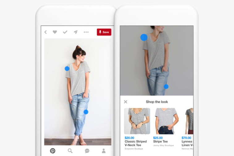 shop the look pins pinterest example
