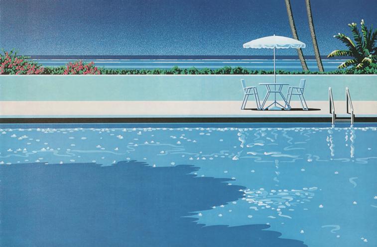 hiroshi nagai swimming pool