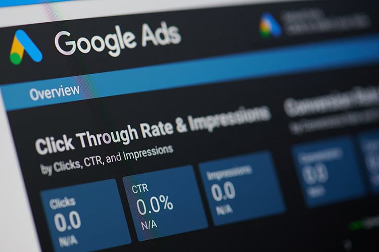 google ads ctr dashboard