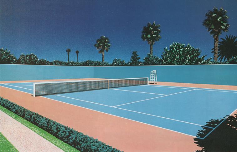teniski teren hirosi nagai