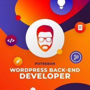 Potreban WordPress back-end developer