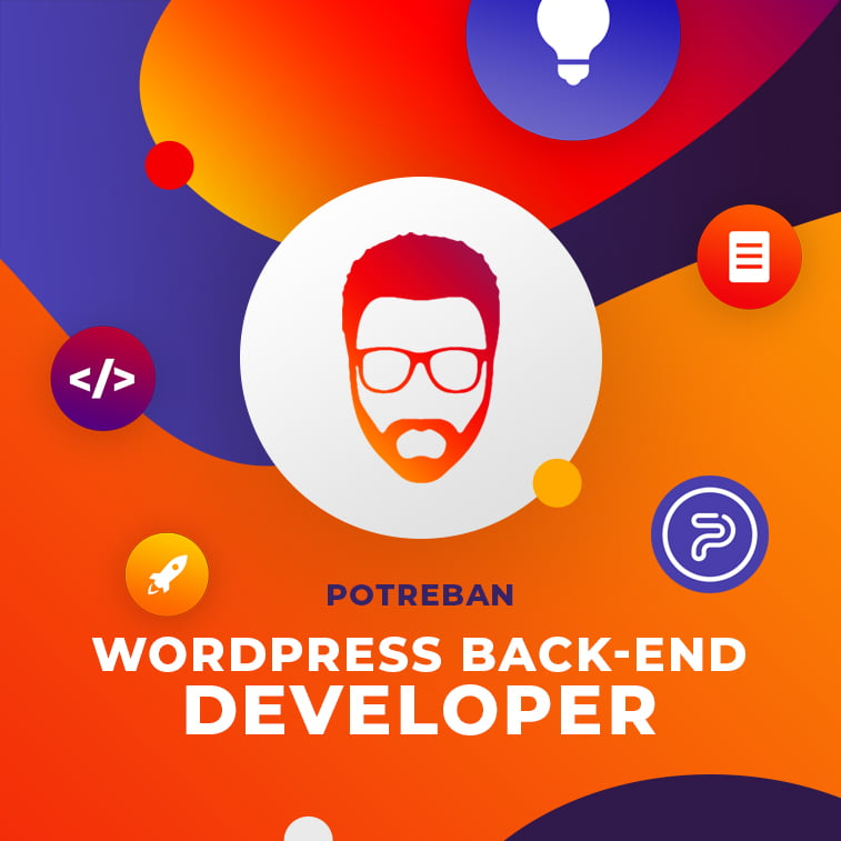Potreban WordPress back-end developer