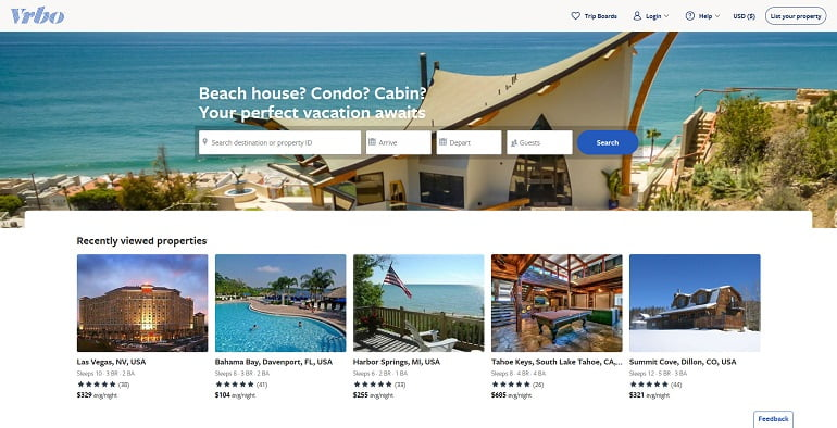vrbo.com website