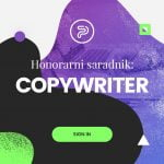 Honorarni saradnik copywriter