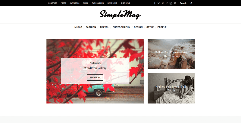 simplemag wp theme