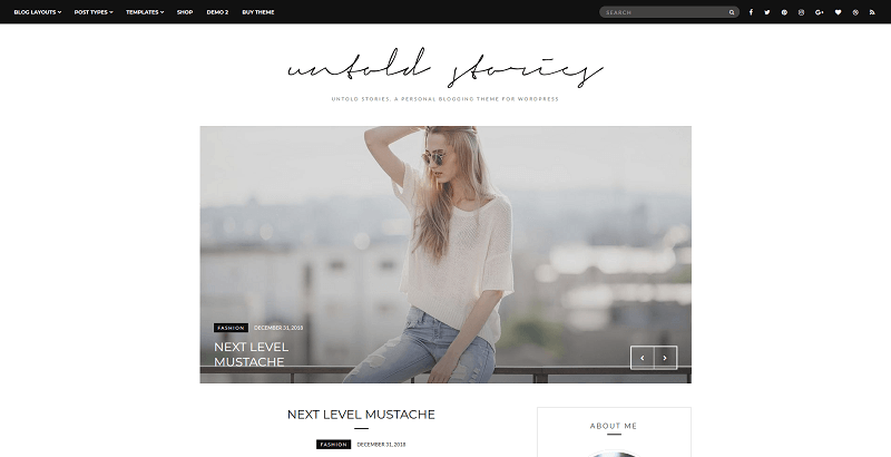 untold stories wordpress theme