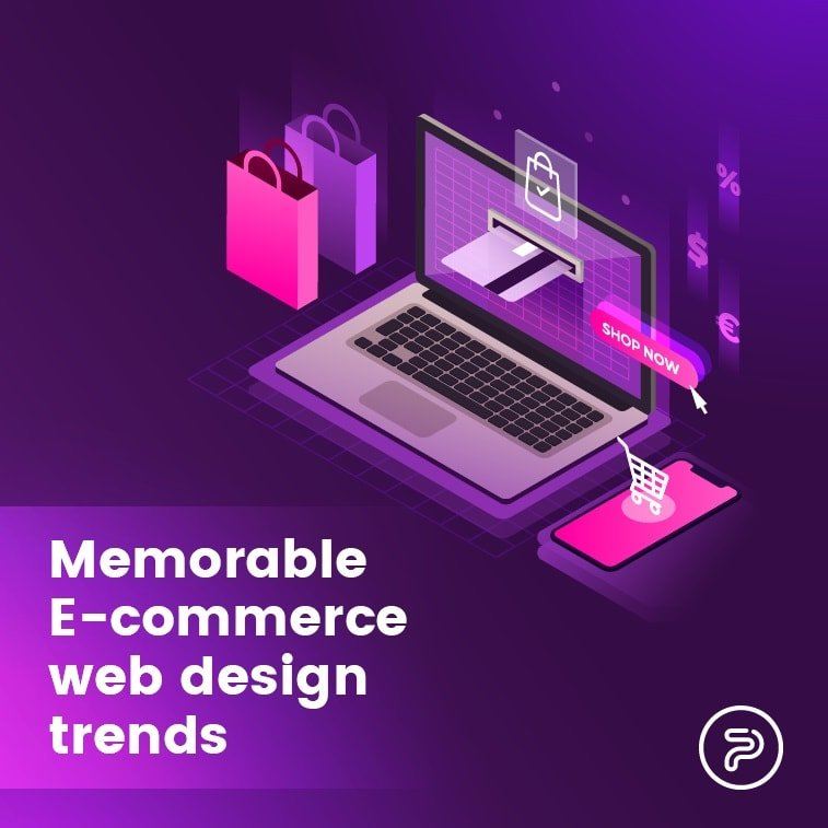 Memorable E-commerce web design trends