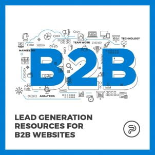 Lead generation resources for B2B websites
