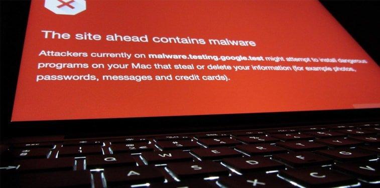 website contain malware