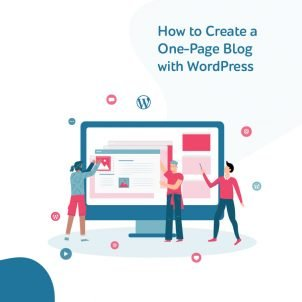 How to create a one-page blog with WordPress
