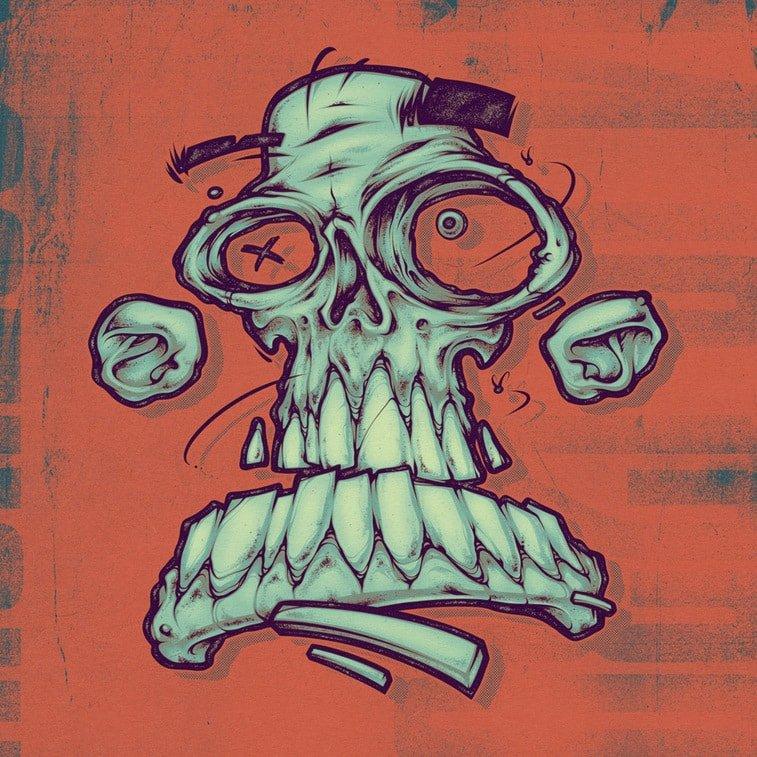 green skull craig patterson