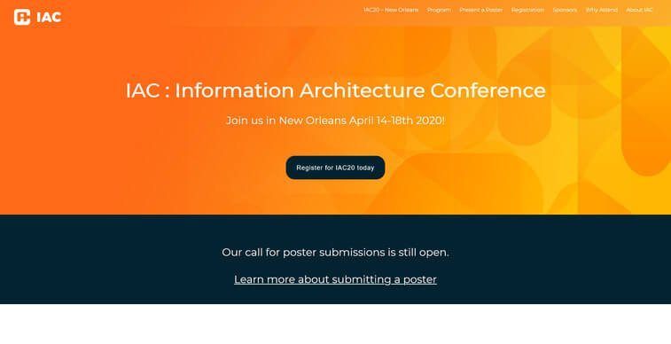 iac information architecture conference