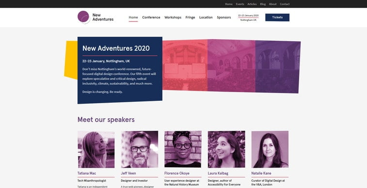 new adventures conference