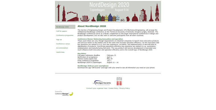nord design conference