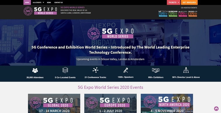 5g expo europe