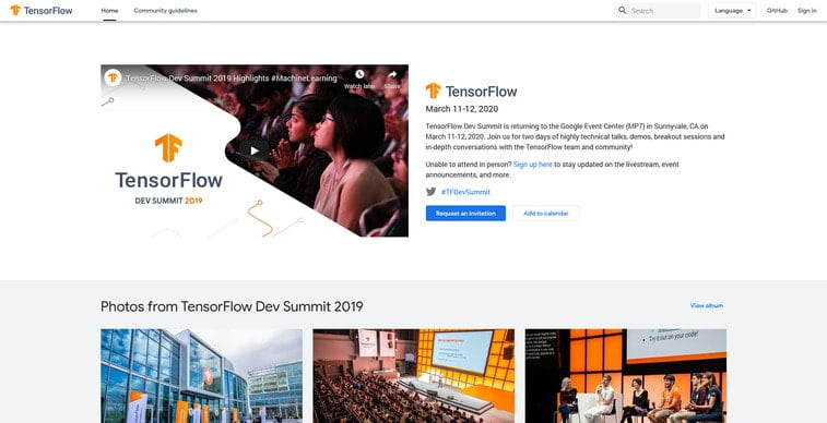 tensor flow dev summit