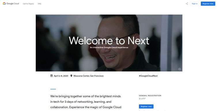 google cloud next conference