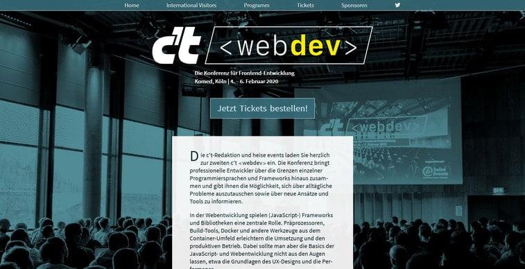 ct webdev