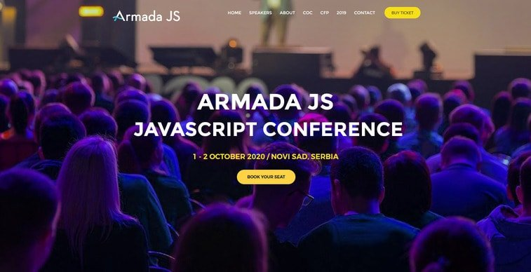 armada js javascript conference
