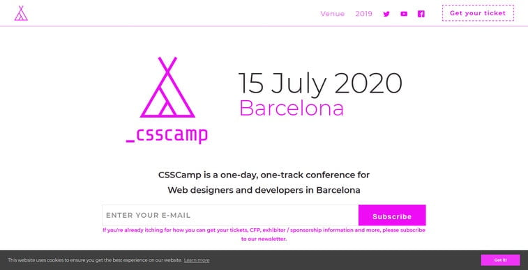 css camp barcelona