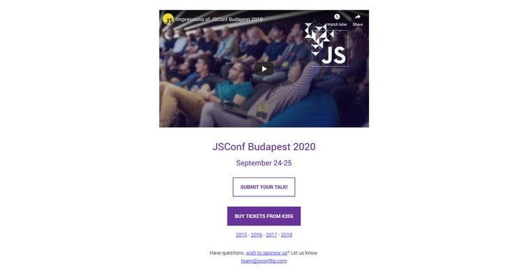 js conference budapest