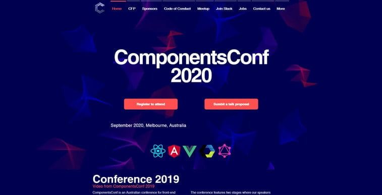 components conference