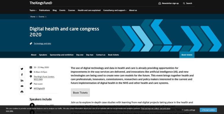 digital health and care congress