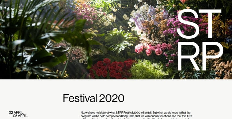 strp festival 2020
