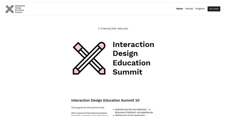 interaction design summit