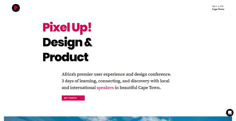 pixel up! conference africa