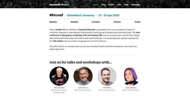 tellerrand conference